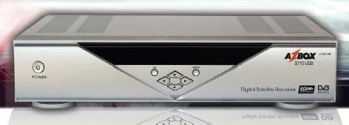 AZBOX S710 USB - ARQUIVOS DE ATUALIZAÇÃO