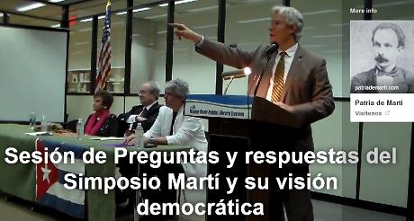 simposio Marti vision democratica preguntas