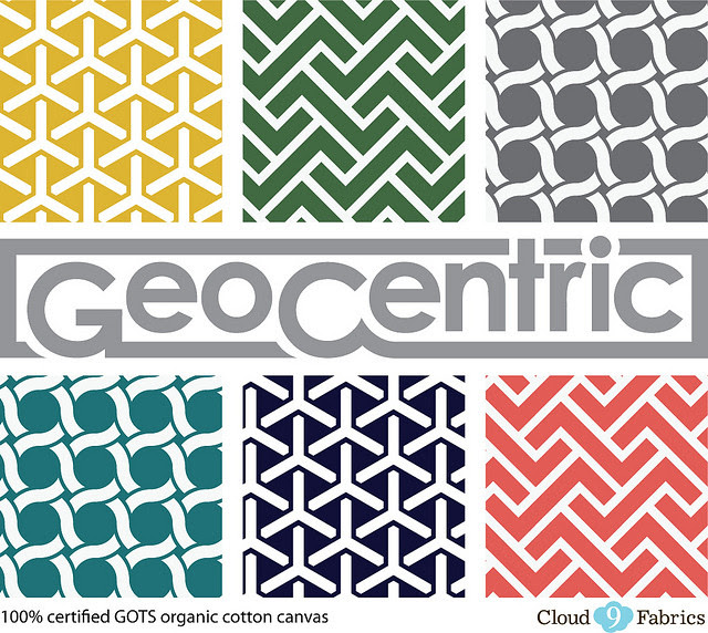 Geocentric 1/2 Yard Bundle for Friday's Fabric Giveaway!!