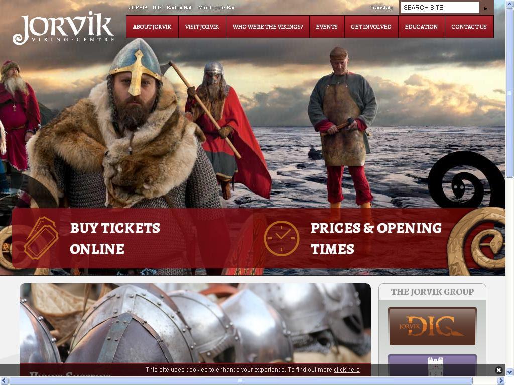 stort viking senter