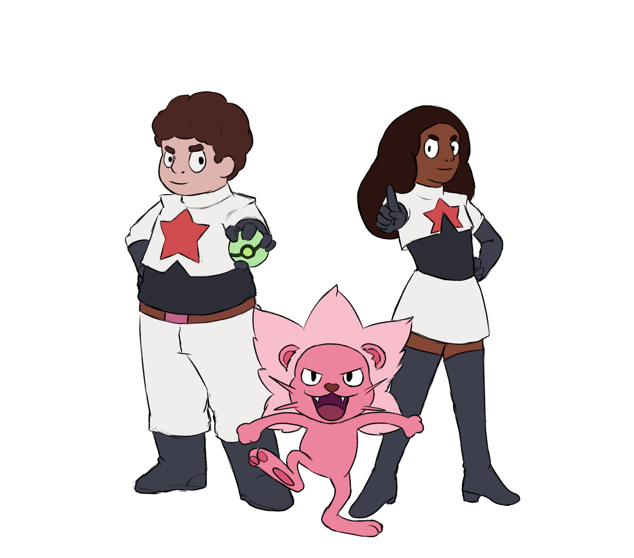 Team Crystal Gems! Another thing drawn for PonyForYou's liveblog, inspired by this post. It's totally not pure coincidence that I happened to finish this on Pokemon's anniversary. Happy Birthday,...