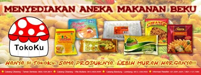 Contoh Banner Jualan Frozen Food - desain spanduk keren