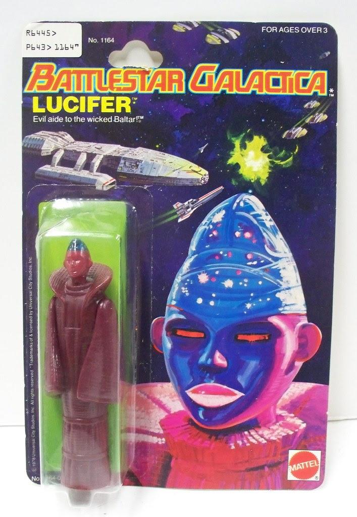 Battlestar Galactica Toys - Lucifer