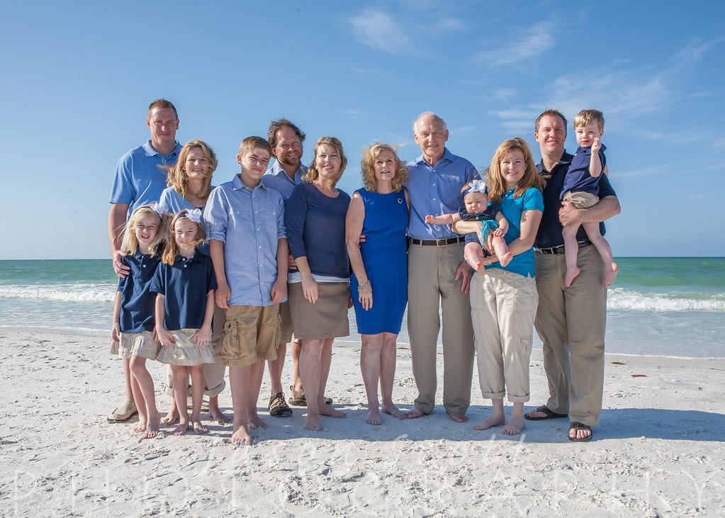 Kruis Family on Siesta Key, March 2012