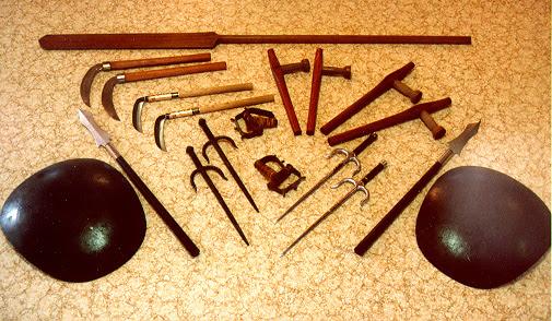 okinawan kobudo weapons Kobudo 古武道: hệ thống kỹ thuật võ khí cổ của võ thuật Okinawa