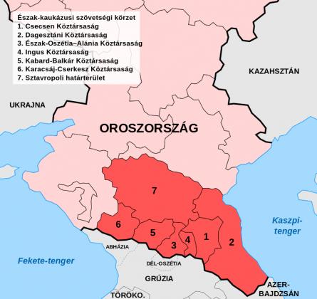 A Kaukázus északi előtere (kép: hu.wikipedia.org)