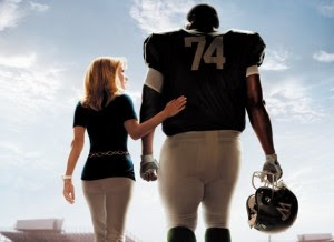 Sandra Bullock and Quinton Aaron in The Blind Side