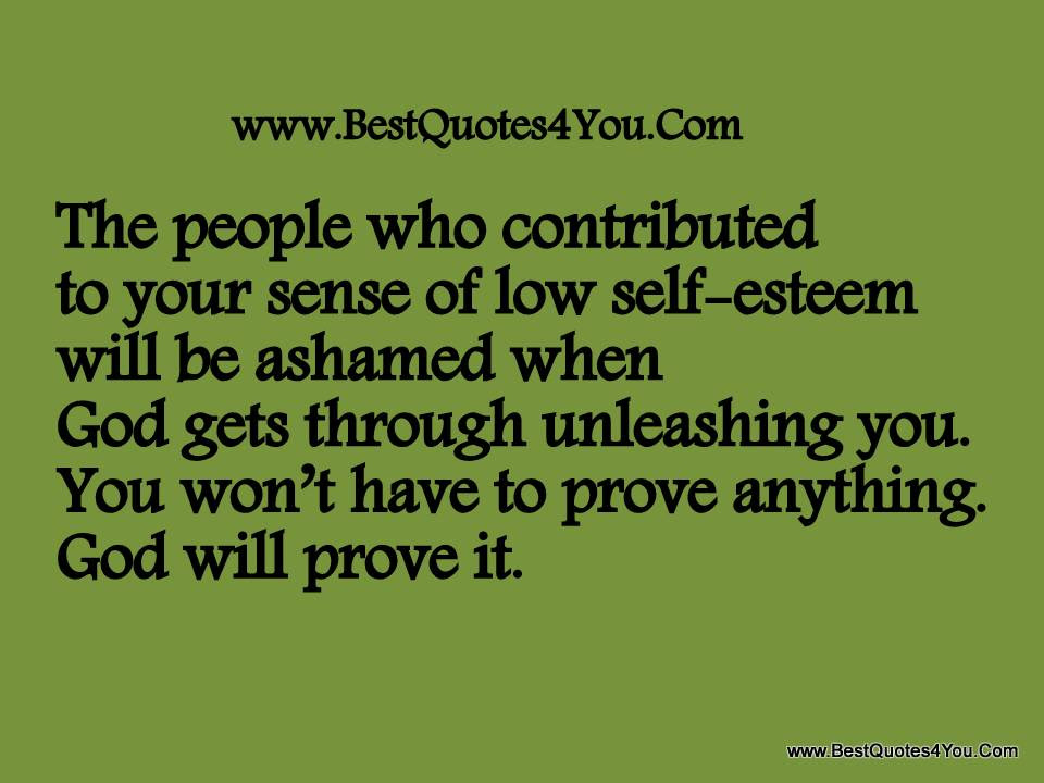 Quotes About Low Self Image 22 Quotes