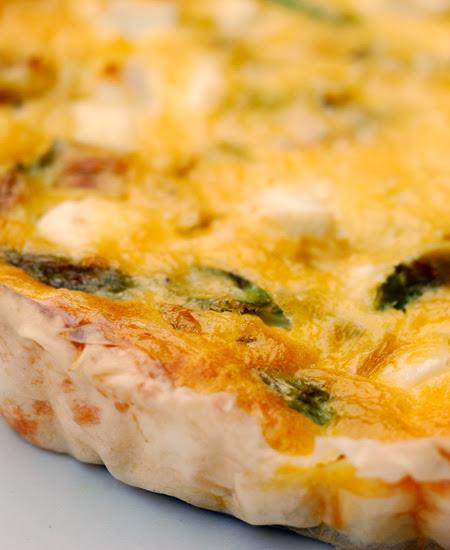 leek,asparagus and goat feta tarts© by Haalo