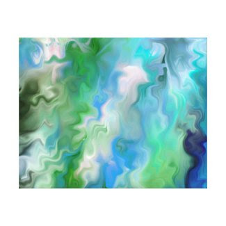 Not real Water an Abstract Gallery Wrap Canvas