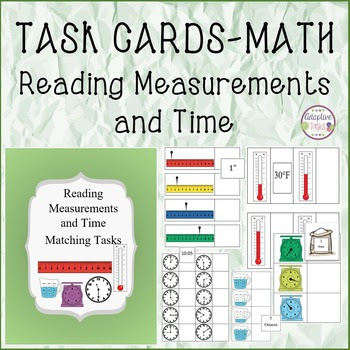 Reading Measurements and Time Matching Tasks