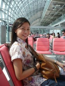 at the Suvarnabhumi Airport, Bangkok