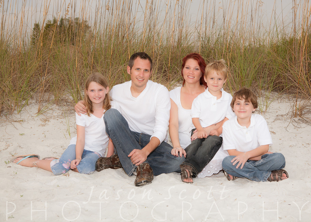 Siesta Key Beach Portrait Samples by Jason Scott Photography