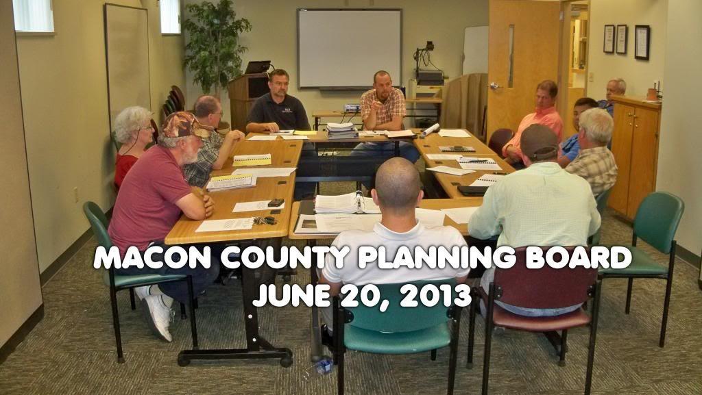 June 2013 Planning Board