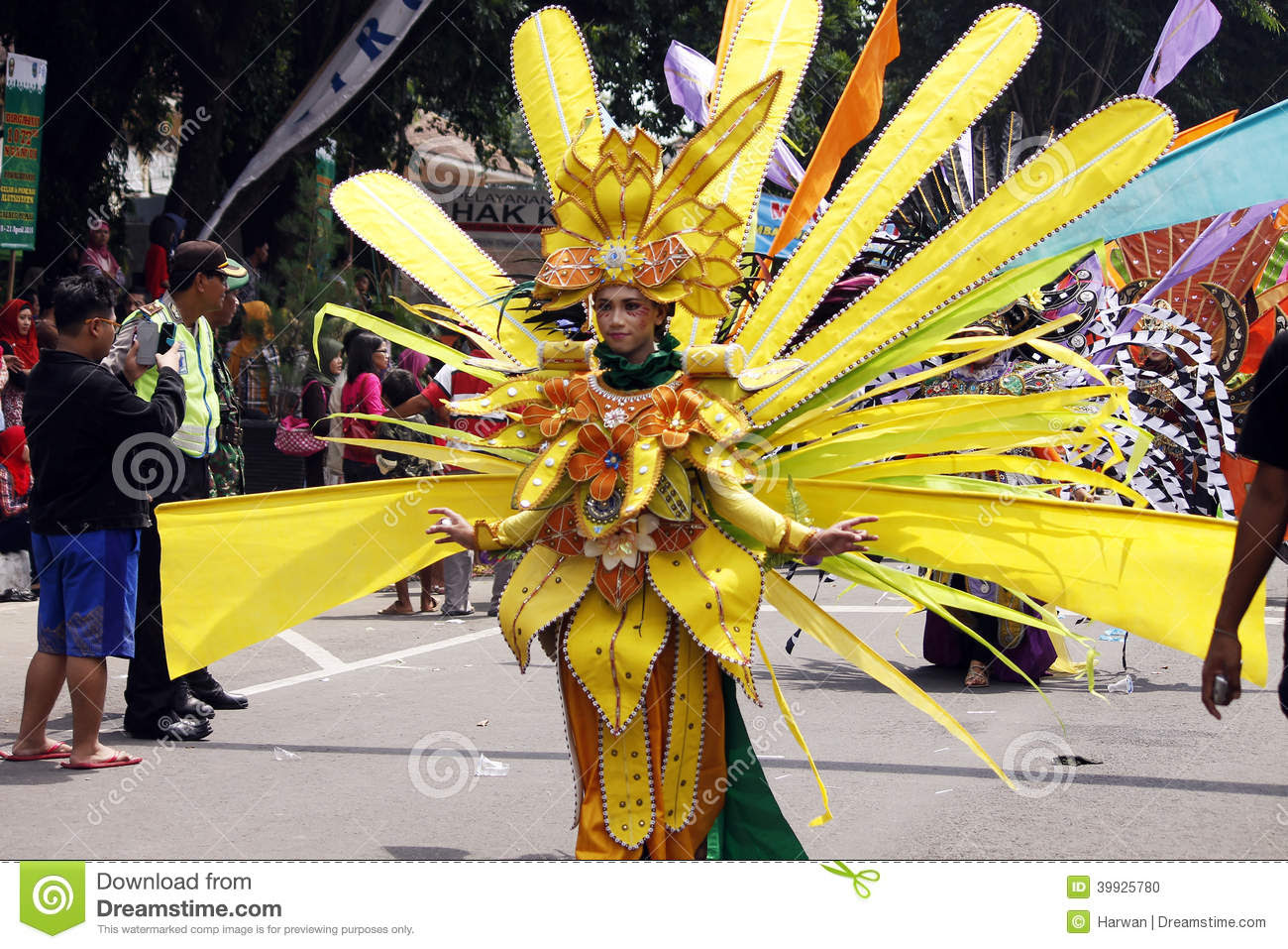 Indonesian Culture Carnival Editorial Image  Image: 39925780