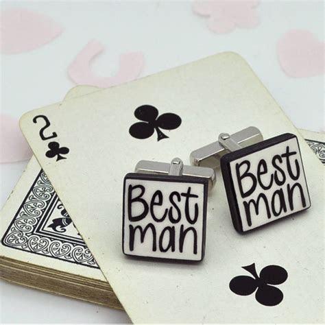 best man wedding cufflinks by mary fellows