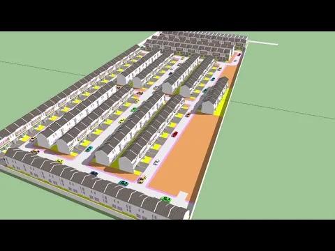 model perumahan 🏠 jasa site plan