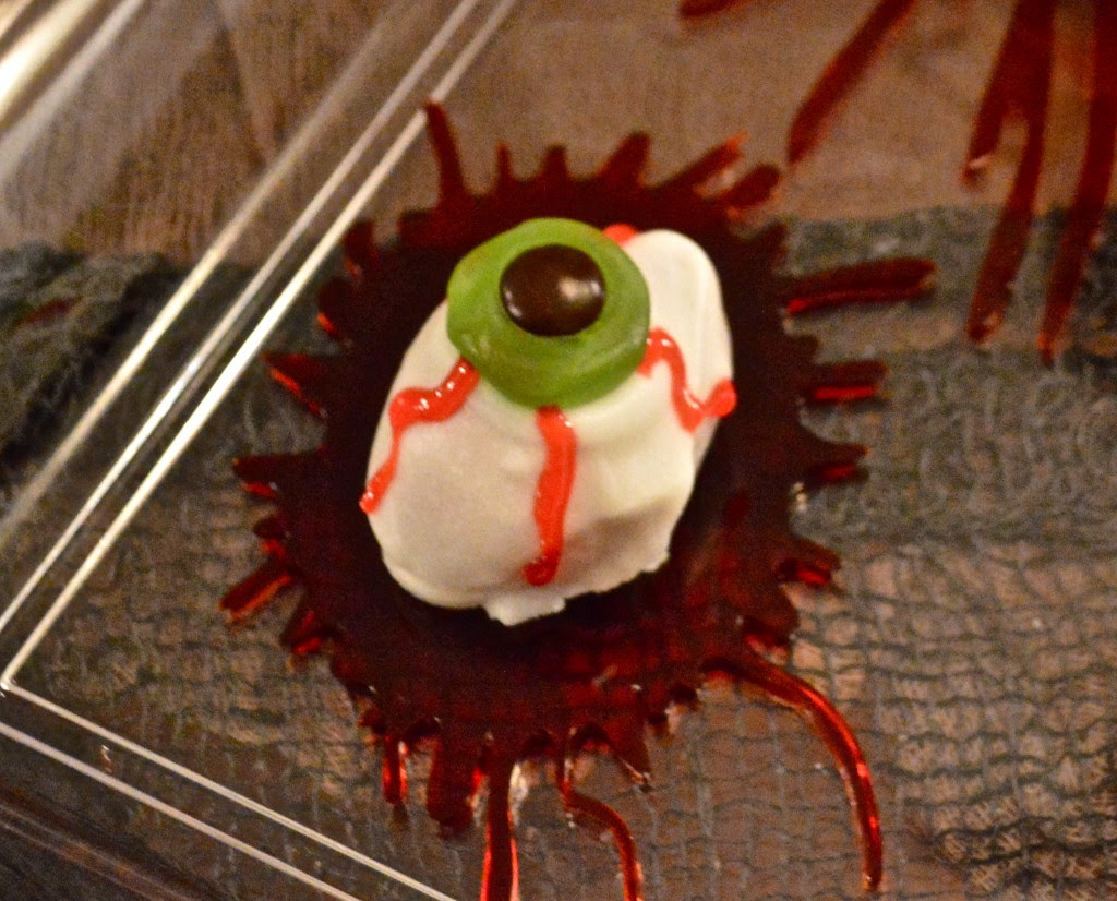 Creepy Eyeball Halloween Treat
