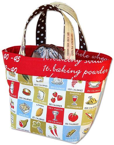 午餐袋|聪明的缝纫工程到upcycle织物废料