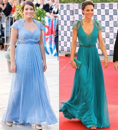 Princess Alexandra of Luxembourg wears similar dress to