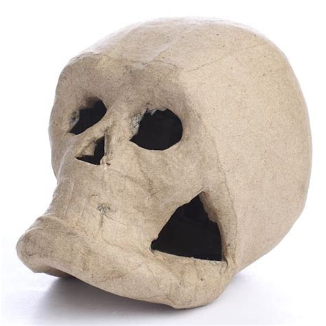 Paper Mache Skull   Paper Mache   Basic Craft Supplies
