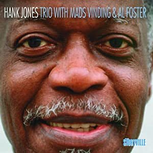 Hank Jones – Trio with Mads Vinding and Al Foster cover