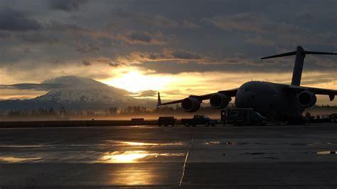 Boeing c 17 globemaster sun usaf us air force wallpaper
