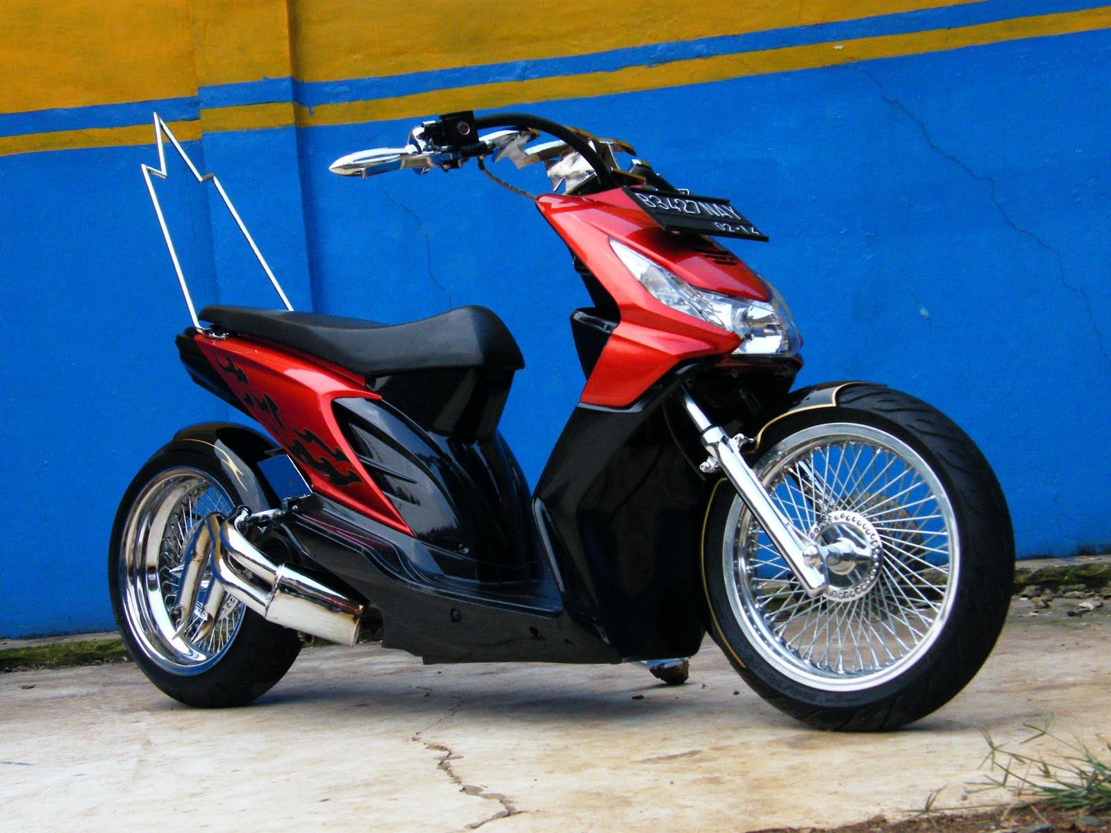 Sepeda Motor Beat Modifikasi Modifikasi Motor Terbaru