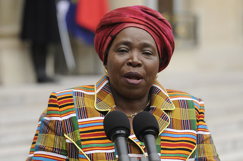 Dr. Nkosazana Dlamini-Zuma, the African Union Commission Chair. She attended a two-day conference on African agriculture in Addis Ababa. by Pan-African News Wire File Photos