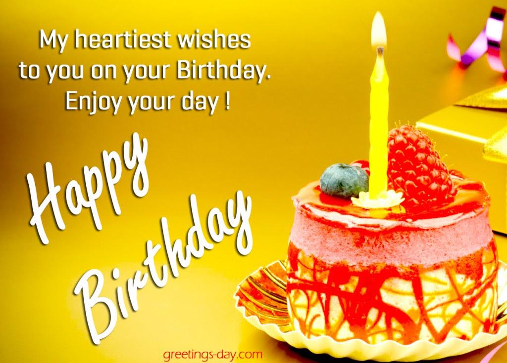 birthday wish cake