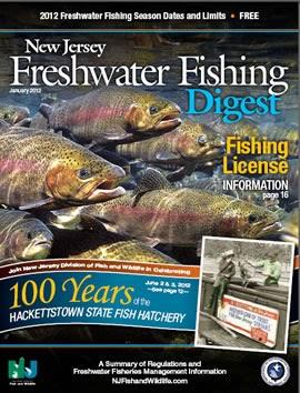 Endangered new jersey nj freshwater fishing digest for Nj freshwater fishing
