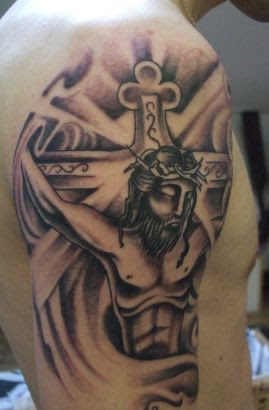 Jesus Tattoos Pics On Arm