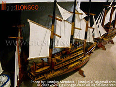 Galleon Miniatures in Guimaras