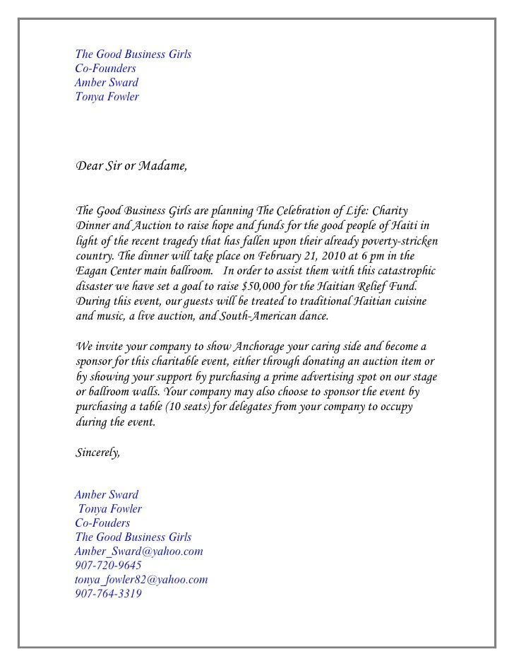 business dinner invitation letter sample