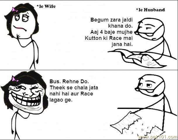 Funny Picture Funny Wife Husband Pak101com