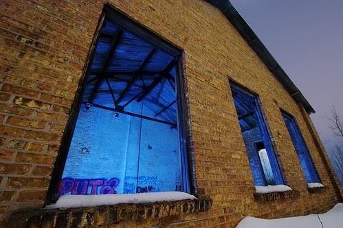 Blue Boiler by dcclark