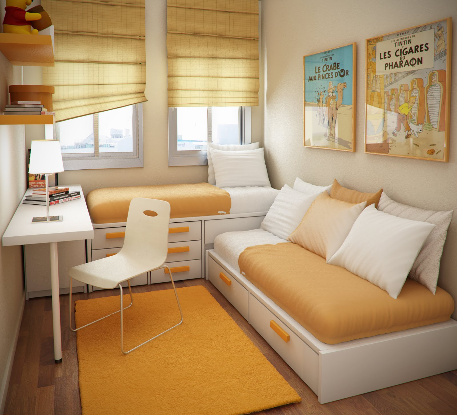 Small Spaces Kids Bedroom Interior Design Online Store
