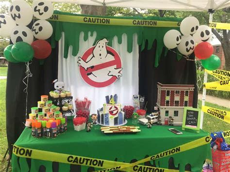 Ghostbusters Birthday Party Ideas   Photo 2 of 4   Catch