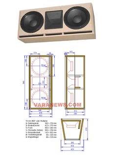 Ukuran Box Speaker 8 Inch Double - Berbagai Ukuran