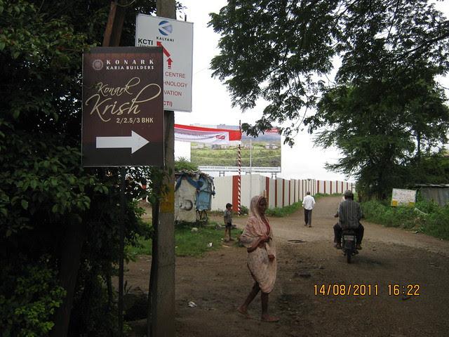 To Konark Krish, KCTI & Eastern Ranges, Keshav Nagar, Mundhwa, Pune 411 036