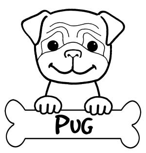 Perro Para Colorear Pintar E Imprimir