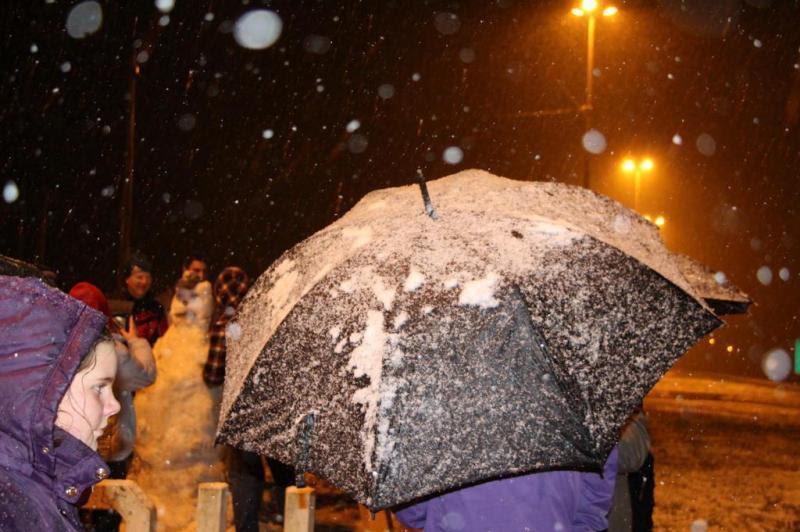 Leitora Marcia Zenf registrou a neve em Papanduva.:imagem 25