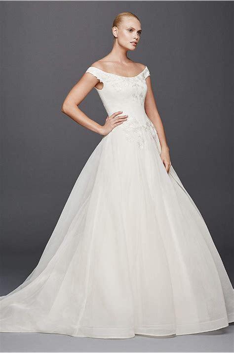 Truly Zac Posen Horsehair Tier Skirt Wedding Dress   David