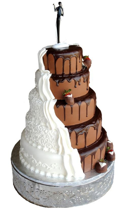 The design of a wedding cake is just as important as the