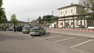 L'estació de Grafing ha quedat clausurada temporalment