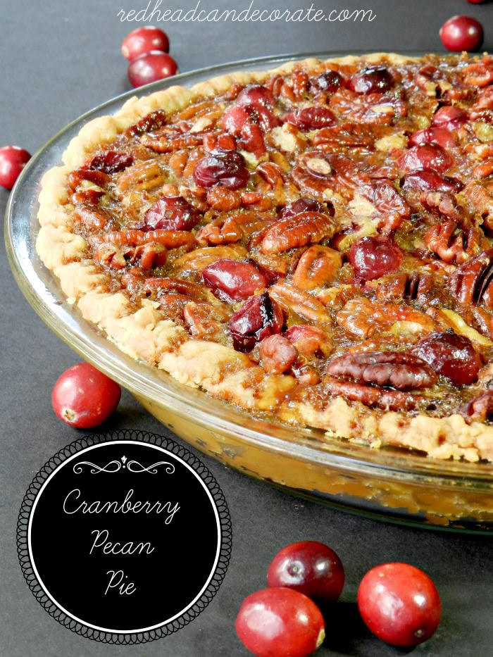 Cranberry Pecan Pie Food Network