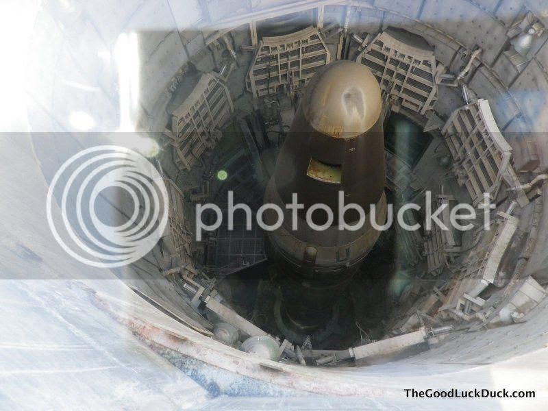 Titan II ICBM in silo
