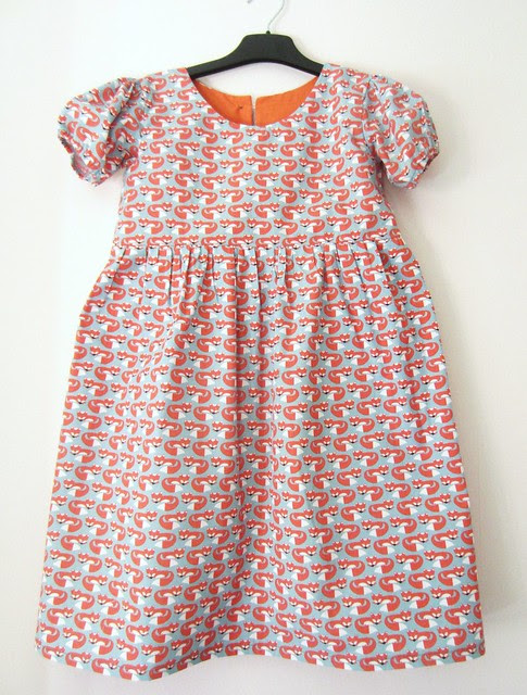 fox party frock