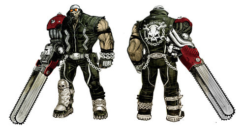 ANARCHY REIGNS - Jack Concept Art