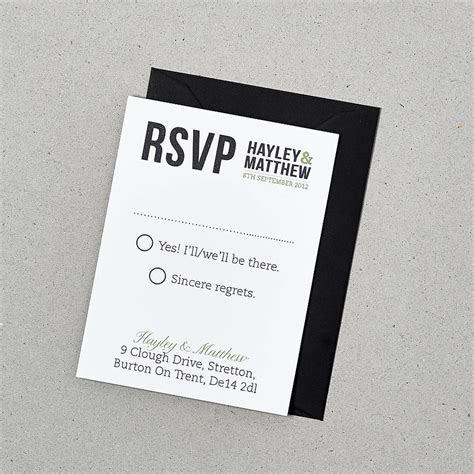baker street wedding invitation set by doodlelove